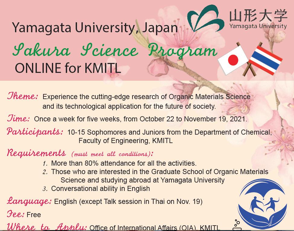 Sakura Science Program! さくらサイエンス・プログラム